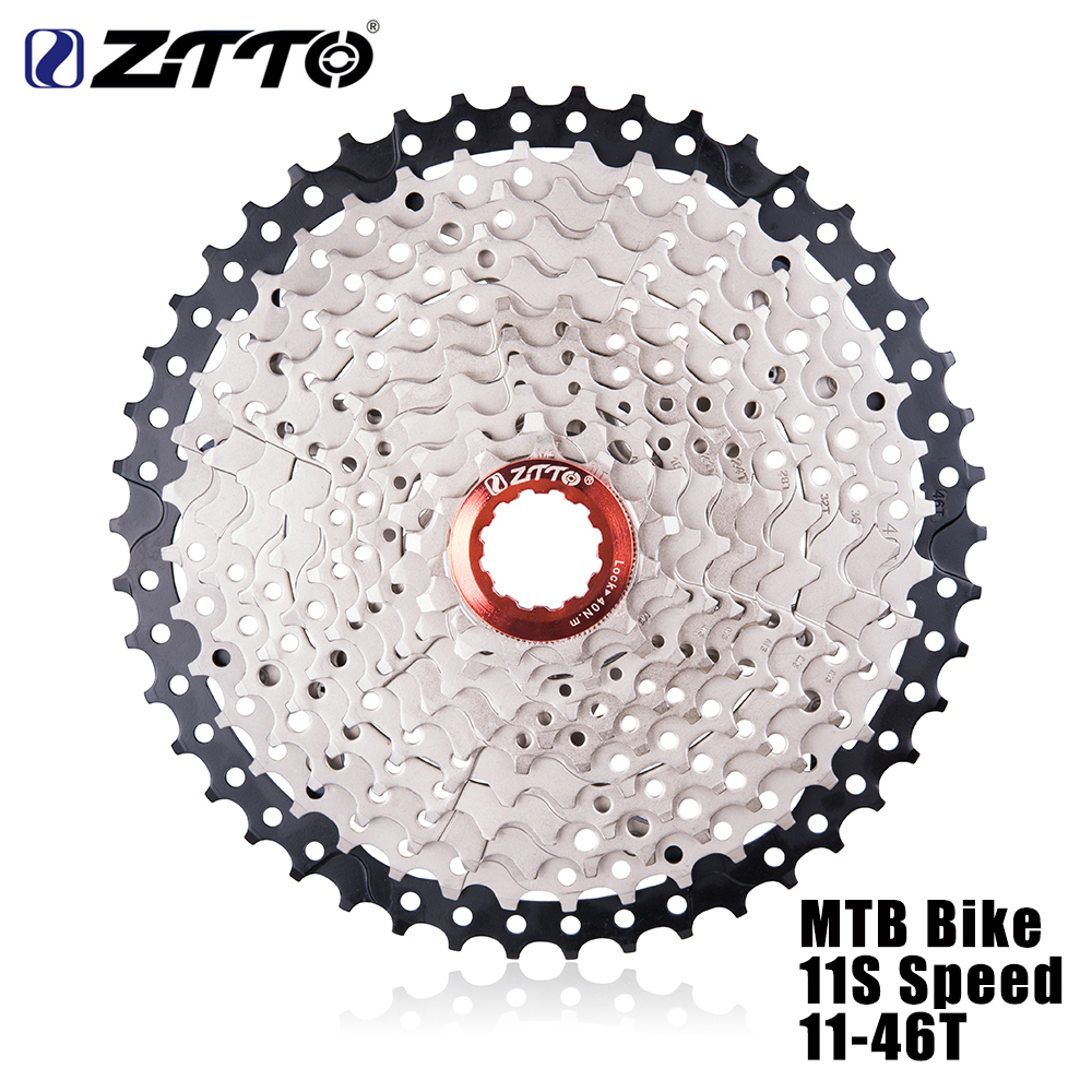 ZTTO MTB Mountain Bike 11S Speed Freewheel 11-46T Cassette Steel Sprocket For Shimano M9000 XT SLX R gx x1 xo Bicycle Parts<br>