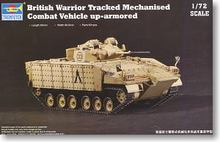 "TRUMPETER 07102 British Army ""samurai"" infantry fighting truck heavy armor type"