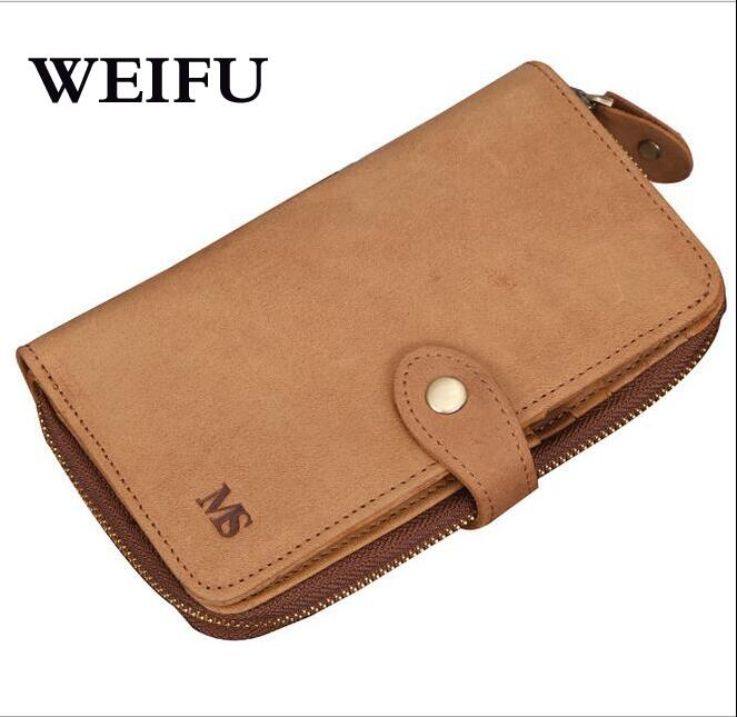 Hand bag Crazy horse leather Women wallet mens wallet card holder purse<br><br>Aliexpress