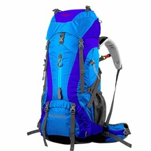 Professional Waterproof Rucksack Internal Frame Climbing Backpack Large Capacity Camping Hiking Backpack Mountaineering Bag 65L