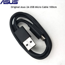 Original Asus USB Micro Cable 100cm SYNC Data 2A Fast Charging Wire For Zenfone 2 5 6 3 max 3 laser 4 selfie pro 4 max pro(China)
