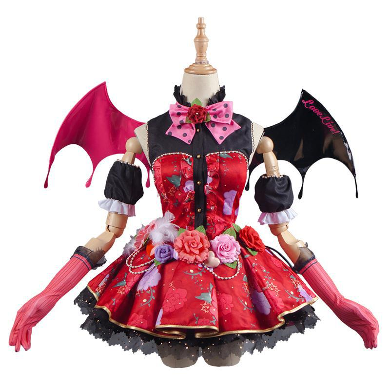 Love-Live-Kousaka-Honoka-Cosplay-Lovelive-School-Idol-Project-Awakening-Idolized-Koakuma-Devil-Demon-Costume (4)