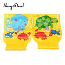 MagiDeal 1Pair PVC Swimming Arm Ring Crab Flamingo Inflatable Arm Bands Floatation Sleeves Water Wings Sport Parts for Children