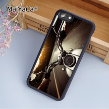 MaiYaCa Riding Motorcycle fashion soft mobile cell Phone Case Cover For iPhone 5 5S SE Custom DIY cases luxury shell(China)