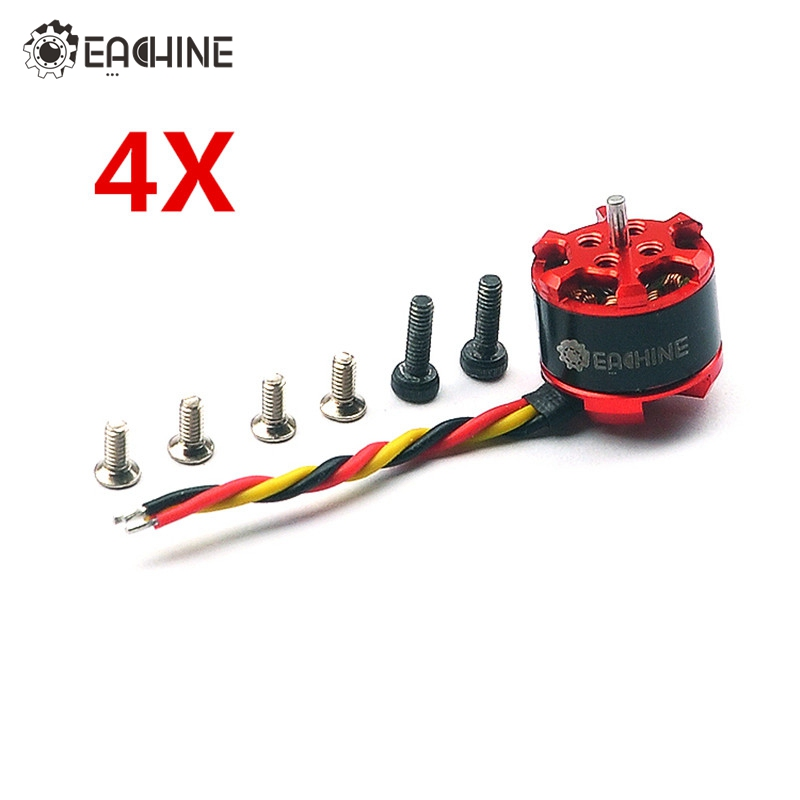 4X Eachine 1104 7500KV 2S Brushless Motor Engine Eachine for Aurora 90 100 Mini FPV Racer Racing Drone Spare Parts Accessories<br>