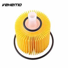 Vehemo Oil Filters Set Fit For Toyota Highlander Genuine OEM Oil Filters Engine 04152-YZZA1 Pack Kit(China)