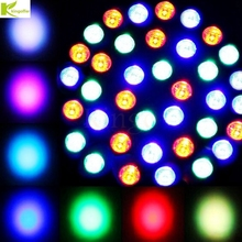 Kingoffer RGB Stage Light 36 LEDS PAR Light Disco DJ Lighting Effect Club Party Light Strobe AC110-220V EU US Plug DMX512(China)