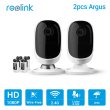 Buy Reolink Wireless WiFi Battery Camera 2MP Outdoor Full HD Wire-Free Weatherproof Indoor Security Cam Argus-2 (2 cam pack) for $179.38 in AliExpress store