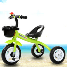 18 months -7 years old new three-wheeled stroller strong wear-resistant children's bike baby bike boys and girls trolley