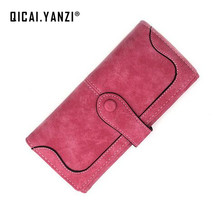 2017 9 Colors New Women PU Leather Purse Long Popular Fashion Lady Wallet Handbags Card Holder Bags billeteras para mujer N697(China)