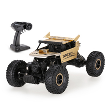 Flytec 9118 1/18 2.4G 4WD Alloy Body Shell Crawler RC Buggy Car High Speed Remote Control Vehicle Electric Toy Off-Road Car
