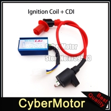 Performance Red Ignition Coil Racing Blue 5 Pin AC CDI Box For XR50 CRF50 Pit Dirt Motor Bike Motorcycle 110cc 125cc Engine