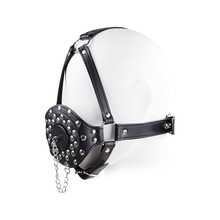 Buy Bdsm Toys Open Mouth Ejaculation Swallow Sperm Bdsm Open Mouth Gag Full Head Harness Slave Mask Gag Sex Toys Couple.