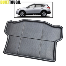 Fit For 2013 2014 2015 2016 2017 Toyota RAV4 Boot Mat Rear Trunk Liner Cargo Floor Tray Carpet Mud Kick Protector Accessories