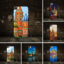 Red Square Moscow Russia Cell phone Case Cover For Huawei P6 P7 P8 P9 P10 Lite Honor 3 4 4X 4C 7 V8 For LG G3 G4 G5