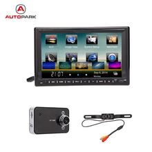 "KKmoon 7"" 2 Din Mirror Connect Android Cellphone Car DVD/USB/SD Player WiFi Bluetooth GPS Navigation Car Entertainment System"
