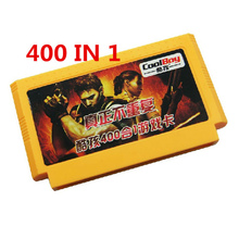 2017 Supper Value 8 bit game cartridge classical game card one pair hot sale ------ 400 in 1