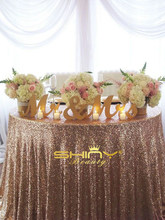 14 PCS 35x300cm Rectangle Sequin Table Runner, 1PCS 200X500CM Sequin tablecloth for wedding decoration &a(China)