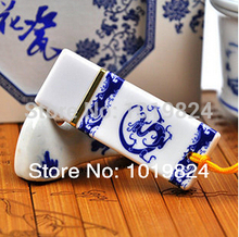 USB Flash Drive Ceramic 8gb 16gb pendrive personalized blue and white porcelain fashion Usb Flash Drives S411(China)