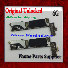 DHL/EMS Free Shipping For iphone 4 4g Motherboard Original with Chips,16GB Unlocked Mainboard For iphone 4 4g