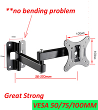 10 inch 24in 30 inch tiltable swivel LCD LED PLASMA tv wall bracket mount stand holder