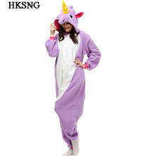 HKSNG Dropshipping Adult Totoro Pajamas Animal Giraffe Blue Stitch Cat Unicorn Kiguruma Pikachu Panda Cow Animal Onesie Cosplay