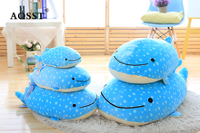 Realistic design Minke Whale kuscheltiere Cutton animal pillow soft toy plush material stuffed sea animal toy for kids gift