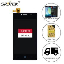 Srjtek For ZTE Blade A3 T220 LCD Display + Touch Screen Digitizer Glass Full Assembly 4.0'' For ZTE A3 T220 T 220 Black/White