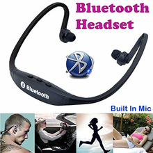 S9 Wireless Bluetooth Sport Headphones Fone De Ouvido Bluetooth Headset Neckband Earphones With Micro for Smart phone Tablet PC