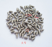30 pcs 2.76*5mm silver Luggage screws,box buckle screws,belt Screws,bag buckle accessoires,bag fasteners,Auto button buckle