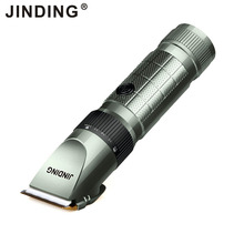 JINDING Professional Hair Trimmer Rechargeable Men's Hair Clipper  With Long Lithium Battery Life 4 Hour Using Cordless  JD-9908