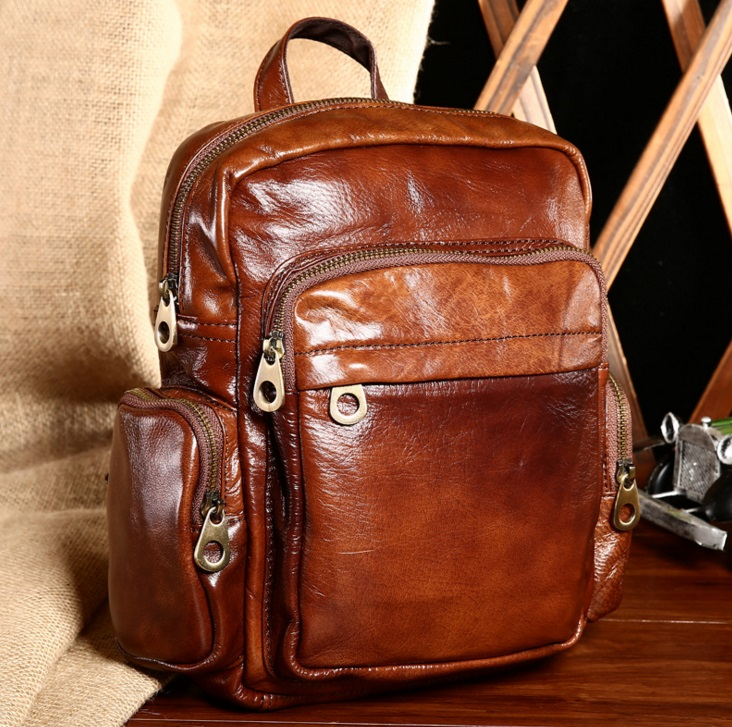 GiftoO Genuine Leather Women Backpack Soft Real Leather Backpack Summer Fashion Female Backpacks for Teenage Girls<br>