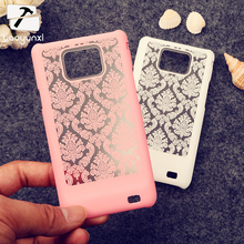 Phone Case For Samsung I9100 Galaxy S II SII S2 Housing Cover I9100G i9108 i9100p GT-I9100 Vintage Flower Plastic Bag Shell Case