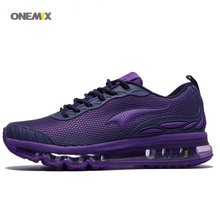 ONEMIX 2017 Free 1120 Plastic drop wholesale Training Running Shoes Sport Women's Air cushion synergy barricade bullet Sneaker(China)