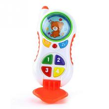 baby toys with sound and light / Child music phone / Learning Study Baby cell phone toy / Educational toy(China)