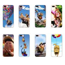 For Xiaomi Redmi Note 2 3 3S 4 4A 4X 5 5A 6 6A Pro Plus Case Adventure Up Pixar Animation Movie Quote Balloons Fly(China)