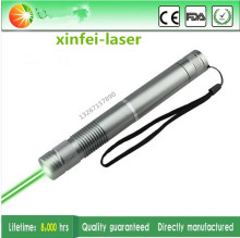 Guaranteed100% 532nm 200mW Focus Adjustable green Laser Pointer Burning Match Free Shipping