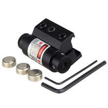 Tactical Mini Red Laser Sight For Rifle Scope Airsoft 20mm Weaver Picatinny Mount Hunting Scopes Air Soft