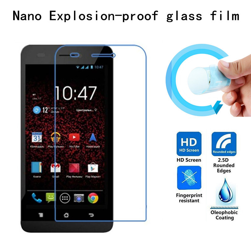Nano Explosion-proof Soft Glass Protective Film Screen Protector for highscreen Spider(China (Mainland))