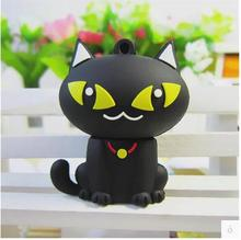 Hot sale  USB flash drive cartoon cat USB Flash 2.0 Memory Drive Stick Pen high speed wholesale  4GB 8GB 16GB 32GB 64GB  S32