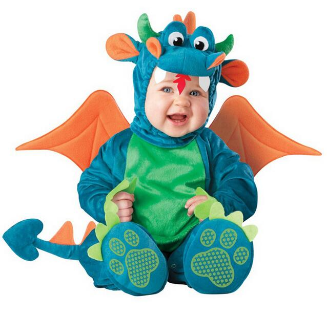 Christmas Xmas Halloween Baby Boys Girls Costume Infant Rompers Dinosaur Anime Cosplay Newborn Toddlers Clothing<br><br>Aliexpress