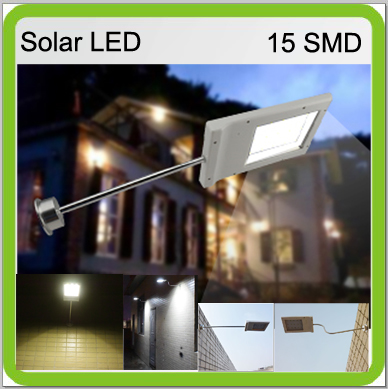 4 PACK 3W solar led flood light led wall lamps mini led street light courtyard garden park outside WATERPROOF 3000mah Li-ion(China)