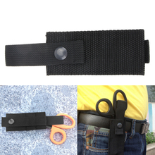 Mini Portable EDC Medical Tactical Scissors Bag Molle Military Essential Accessories 900D Ribbon Had Pulp BagsTravel Kit