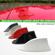 Shark fin antenna special car radio aerials signal for Volkswagen POLO Tiguan Passat Golf Jetta Bora CC Phaeton car Stickers