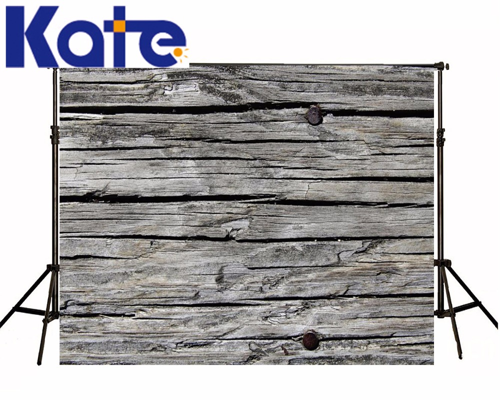 Kate  Old Wood Photography Backdrops Crackle Nail Wooden Slats Wood Brick Wall Backgrounds For Photo Studio<br>