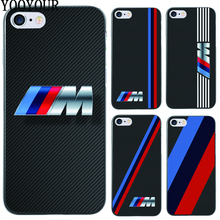 Yooyour Slim BMW hard plastic Cover Case For Apple iphone 4 4s 5 5 5s SE 6 6S 6PLUS 7 7PLUS