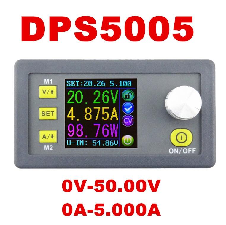 Voltage meter Regulator LCD converter Adjustable DPS5005 Programmable Power Supply Module Buck Voltmeter Ammeter Current tester<br><br>Aliexpress