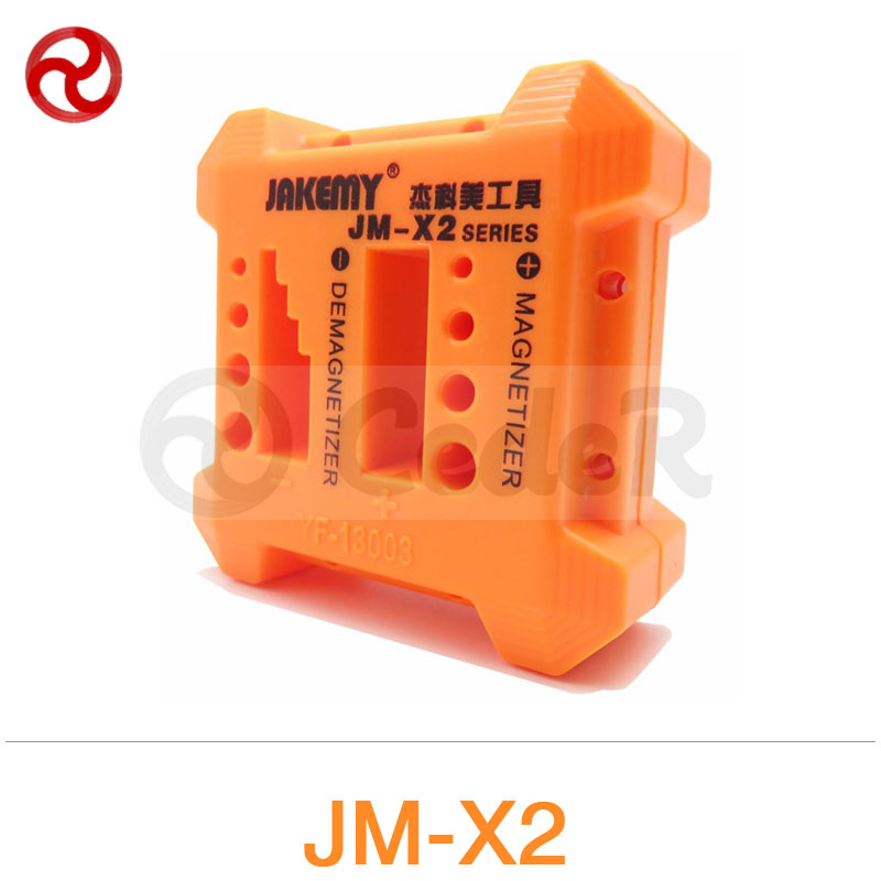 JAKEMY Magnetizer Demagnetizer Tools for Electric Manual Screwdriver Components Adsorption Wrist Band Wristband JM-X1/X2/X3/X4<br><br>Aliexpress