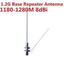OSHINVOY 1.2G outdoor signal receiving fiberglass antenna 8dBi N female omni base antenna 1.2G fiberglass antenna omnidirection(China)