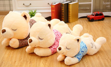 60cm super cute papa bear plush toy doll large teddy bear sleeping pillow dream valentine's day gift to girlfriend